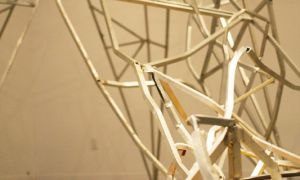 TH&B's exhibition Resurrection depicts the damage of the Great Ice Storm of 1998 through sculpture and film.