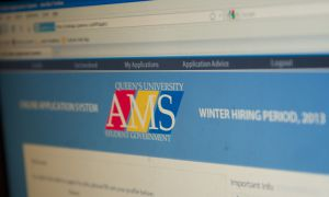 The AMS received 2,500 applications in the fall, Vice-President of Operations Tristan Lee said.