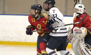 Queen's is two points back of Guelph in the OUA standings.