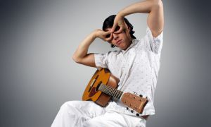 """Winnipeg singer JP Hoe says sometimes he writes his songs after taking what he calls a """"professional nap."""""""