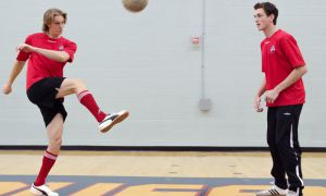 Queen's central defenders Joe Zupo and David Tom are two of five men's soccer players to sign on with Kingston FC — Kingston's only professional sports team — for the 2013 season.