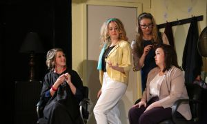 In the production of Steel Magnolias, based on the 1989 movie, a group of female friends gather at a salon to discuss their lives.
