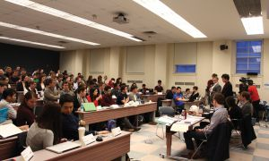 On Mar. 3, a special AMS assembly gathered in Dunning Hall Room 14 and voted 37 in favour and three against the nomination of Nicola Plummer as the incoming vice-president of operations.