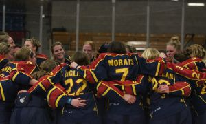 Queen's survived a frantic flurry in the final seconds to clinch the OUA championship against Western last Friday.