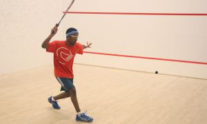 First-year men's squash player Mo Hamour was named OUA Rookie of the Year.