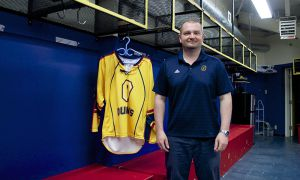 Matt Holmberg has won two championships and multiple OUA accolades with women's hockey.