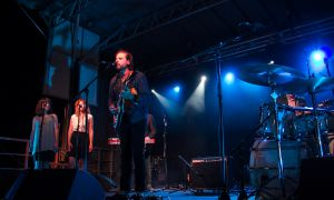 Bahamas graced the main stage on day one of the Wolfe Island Music Festival last Friday.