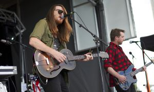 The Wooden Sky played at Wolfe Island Music Festival on Aug. 10.