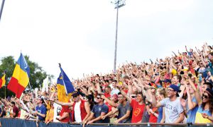 7,600 fans watched Queen's defeat McMaster 31-24 in Monday's home opener.