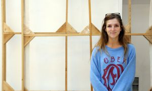 Rachael Guichon, ArtSci '14 and a BFA student, feels the AMS could have been more open about student art involvement in The Underground.