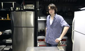 Luke Hayes-Alexander in Luke's Kitchen.