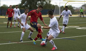 Four different Gaels contributed goals this weekend, including forward Chris Michael.