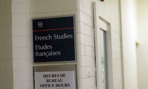 Admission to french studies could be suspended for another year.