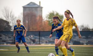 Laurentian held the Gaels to a scoreless draw on Saturday.