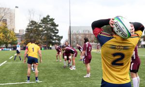 Queen's outscored McMaster 24-0 in the second half to pull away on Saturday.