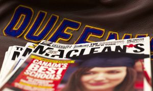 Queen's ranked 4th in the Maclean's Magazine's annual university ranking.