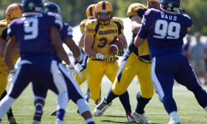 Jesse Andrews finished 10th in the OUA this season with 473 rushing yards, scoring five touchdowns.