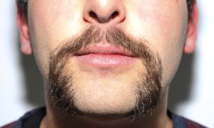 Students are encouraged to post a picture of their mustaches as part of the campaign.