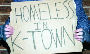 According to the City of Kingston, 818 individuals spent time in local shelters in 2012.