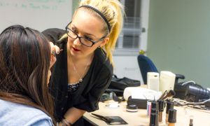 Makeup artist Jessie Walsh has honed her skills in both special effects and beauty makeup.