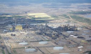 Neil Young has recently spoken out against the expansion of oil sands development, like this Syncrude plant.
