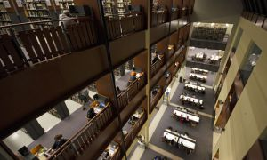 The library occupancy app has a 98 per cent accuracy rate.