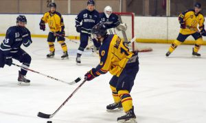 Patrick McGillis scored in Queen's win over Concordia on Friday.