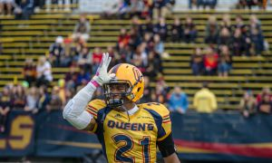 Andrew Lue was taken 10th overall by the Montreal Alouettes in this month's CFL Draft.