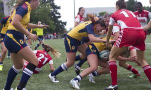 Women's rugby kicked off their title defence with a 61-12 shellacking of the York Lions. 2014 marks the first season in which the Gaels are the defending champions.