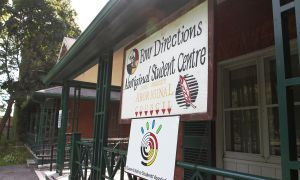 The Four Directions Aboriginal Student Centre at Queen's serves to support Indigenous students and inform the wider Queen's community.