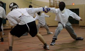 Queen's men's fencing team won three straight OUA titles from 2011 to 2013, while the women's squad are the defending champions.