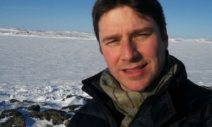 Vorano has led art projects in the arctic.