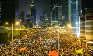Thousands of protesters took to the streets in Hong Kong, to demand a fair democratic process.