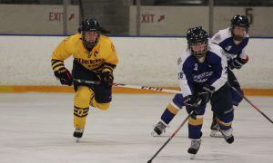 Gaels captain Shawna Griffin recorded three assists in a pair of wins for the Gaels.