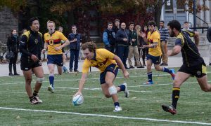 The Gaels 383 points scored this year ranked second in the OUA.