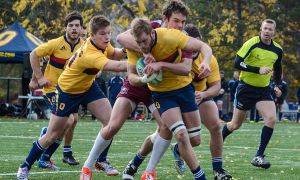 The Gaels racked up 40 first-half points on the way to a 61-0 routing of the McMaster Marauders in the OUA Semi-Final.