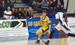 Forward Mackenzie Simpson was one of three players from the Gaels' 2013-14 roster to depart due to graduation. Fellow forward Nikola Misljencevic also graduated.