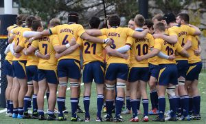 The Gaels won their 21st overall Ontario title — and third in a row — with a 32-23 victory over the Guelph Gryphons on Saturday.