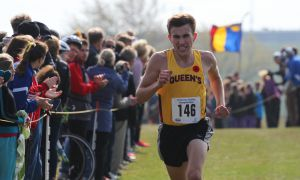 Alex Wilkie was Queen's top male performer at the CIS championships in St. John's, finishing 10th overall.
