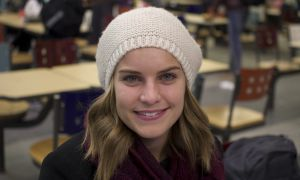 """""""It makes me realize that I missed out on something important."""" Laura Kaikman, ArtSci '17"""