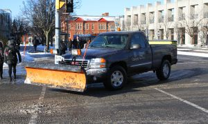 Matthew Barrett, grounds manager at Physical Plant Services (PPS), said PPS has a snow removal plan in place.