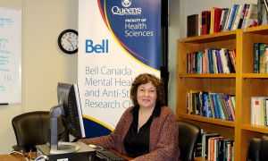 Heather Stuart developed Bell's five ways to end mental illness stigma.