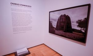 Charles Stankievech's exhibition Monument As Ruin at the season launch.