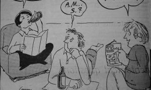 Illustration from Jan. 28, 1986 of the Journal, Issue 29, Vol. 113.