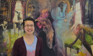 Francesca Pang has been painting since she was three years old.