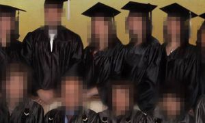 Farbodkia's graduating class of 2008 from the Baha'i Institute for Higher Education (BIHE) had to learn in secret to avoid persecution from the Iranian government.