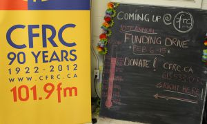 CFRC's annual funding drive ran from Feb. 6-15, but will continue through April.