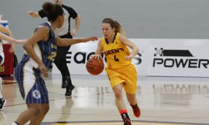 Fifth-year guard Liz Boag led the Gaels with 19 points in the team's 80-52 victory over the Laurentian Lady Vees in their playoff opener. The game was Boag's final career contest at home.