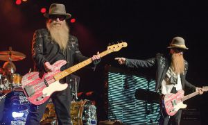 ZZ Top at the K-Rock Centre.
