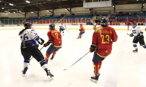 Former women's hockey player Molly Maclellan played for the University of Edinburgh hockey team while on exchange this year.